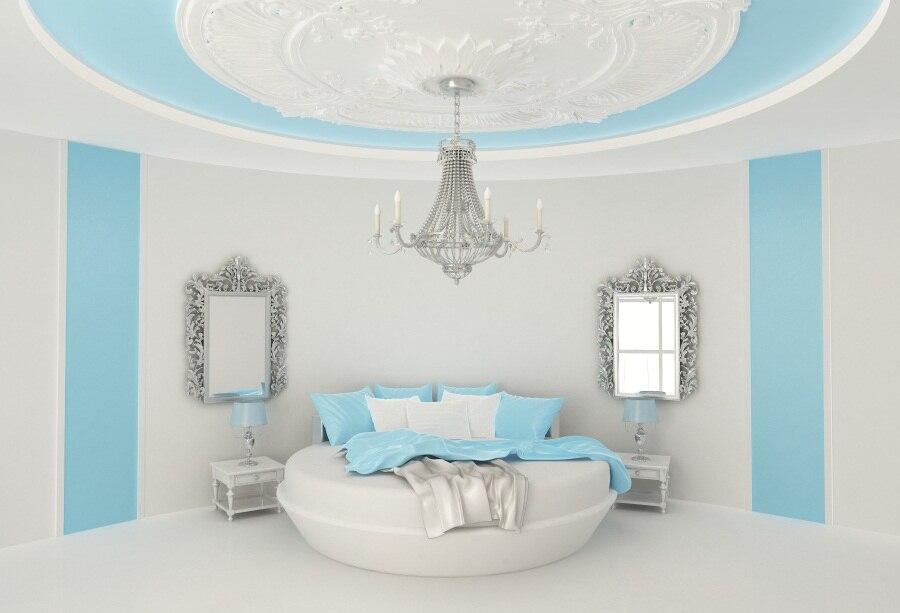 laeacco princesse chambre intérieur lustre miroirs photographie