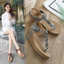 Shoes Women For Comfortable Wedges Gladiator Sandals Summer Femme 2019 New Size 35-42