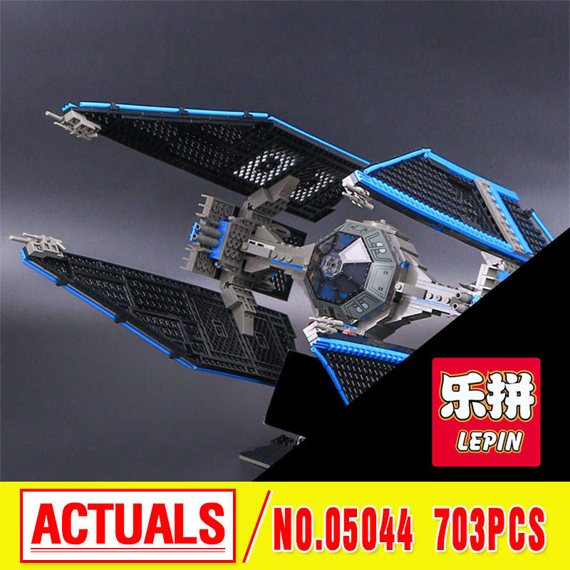 Lepin 05044 New 703pcs Star Series Limited Edition The TIE Interceptor Building Blocks Bricks Model Toys 7181 Funny Toy Gift War lepin 05035 star wars death star limited edition model building kit millenniums blocks puzzle compatible legoed 75159