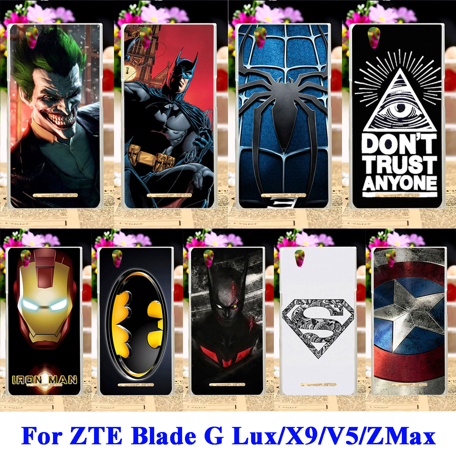 timeless design 66c31 e8c02 Soft TPU Hard PC Mobile Phone Cases For ZTE Blade G Lux Kis 3 Max ...