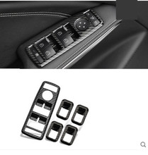 купить Carbon Fiber Style Car Window Glass Lifting Buttons Frame For Mercedes Benz A B C E G CLA CLS GLE GLS GLA GLK ML GL class ABS по цене 2090.1 рублей