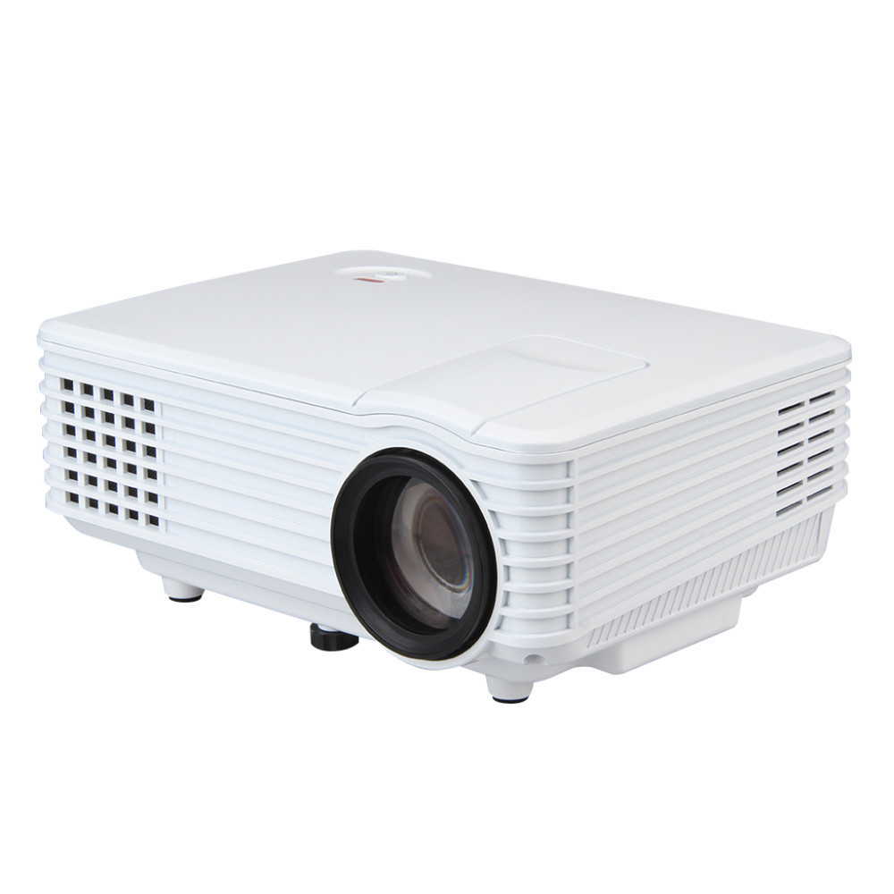 800 Lumens Home Theater Mini Portable Led Multimedia: Mini Portable 2000 Lumens 800*480 HD 1080P LED Projector