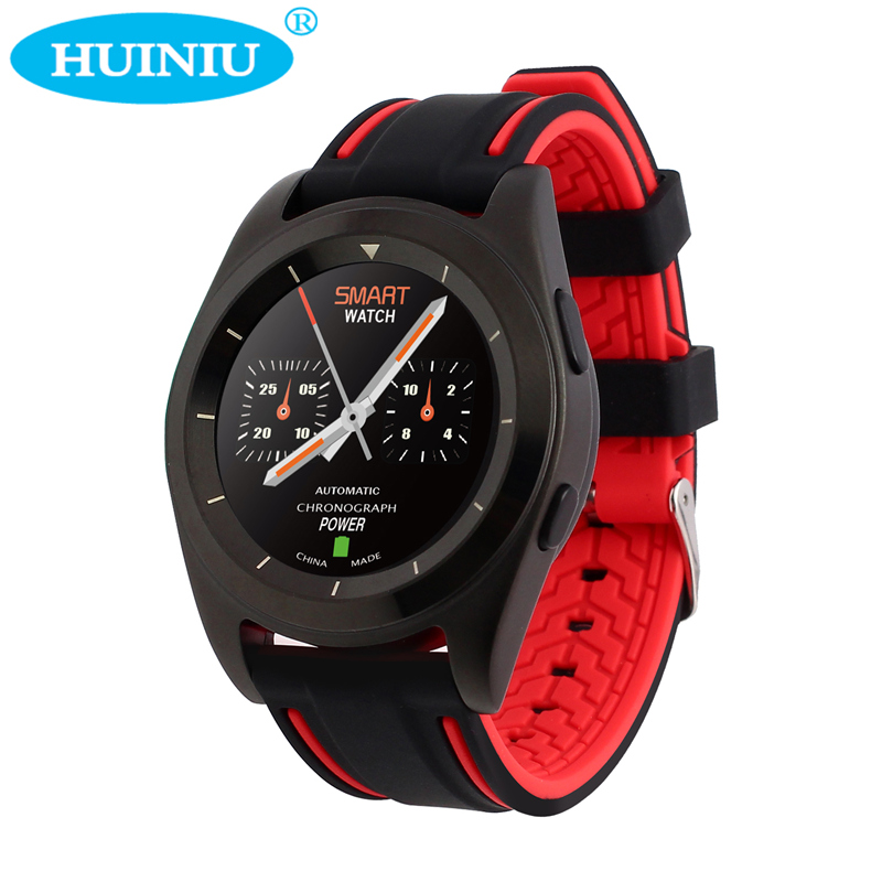 HUINIU G6 Smart Watch Heart Rate Tracker Message Reminder Passometer Calendar Dial Call Bluetooth Smartwatch For Android IOS эхолот lucky ff918 100cd portable