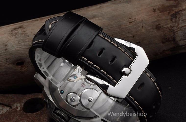Carlymolhado pulseira de relógio de couro, 22