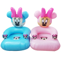 2 to 6 years old lovely portable cartoon Mickey Mouse PVC inflatable sofa seat children toys for children43*43*65