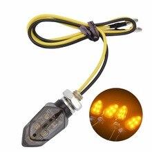 1 PIC moto rcycle указатель поворота светодио дный мигалка для мото янтарный свет flasher лампы Задний фонарь вспышка света для yamaha harley