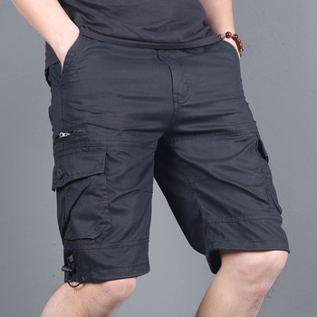2020 Mens Military Cargo Shorts Summer army green Cotton Shorts men Loose Multi-Pocket Shorts Homme Casual Bermuda Trousers 4XL Others Men's Fashion