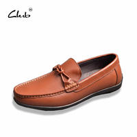 Club High Quality Genuine Leather Men Shoes Soft Moccasins Loafers Fashion Brand Men Flats Comfy Driving