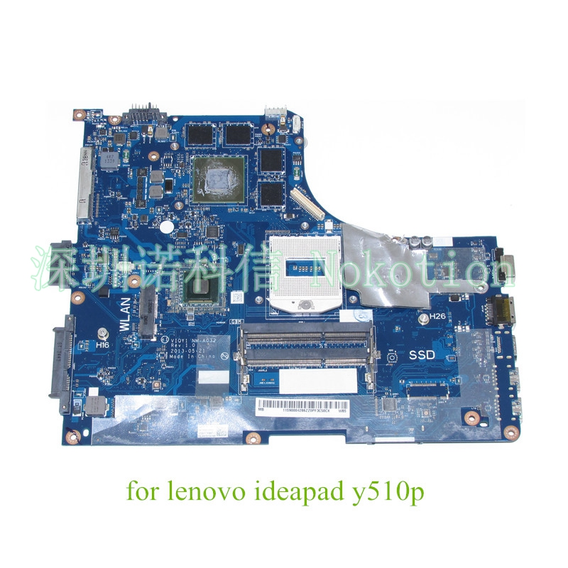 VIQY1 NM-A032 Rev 1.0 for lenovo ideapad Y510P 15.6 Laptop Motherboard GeForce GT755M 2GB graphics