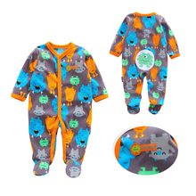 2019 New Baby Romper Long Sleeve Boy Girl Clothes Newborn Clothing Casual Infant Suit Toddler 10 Colour