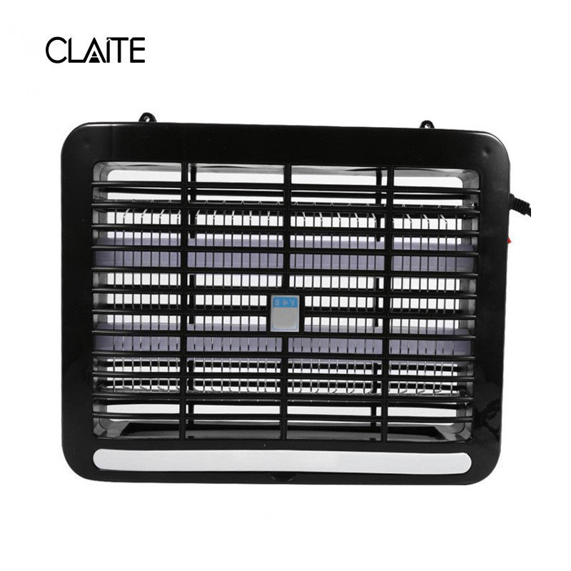 CLAITE 8W LED Mosquito Repellent Trap Lamp Electric Mosquito Killer LED Moth Fly Bug Insect Pest Zapper Repeller usb e27 led electronic mosquito killer lamp trap moth fly wasp led night light bug zapper insect anti mosquito killing repeller