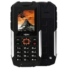 NOMU T10 Quad Band Unlocked Phone 2.0 Inch IP68 Waterproof Dustproof Shockproof Flashlight Camera BT FM Charge 2800mAh Cellphone