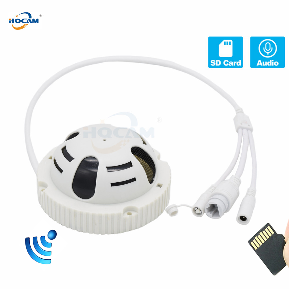 HQCAM Wifi Audio TF Card slot 720P 960P 1080P mini IP camera P2P Security Network IP Camera SECURITY HOME SECURITY SD H.264