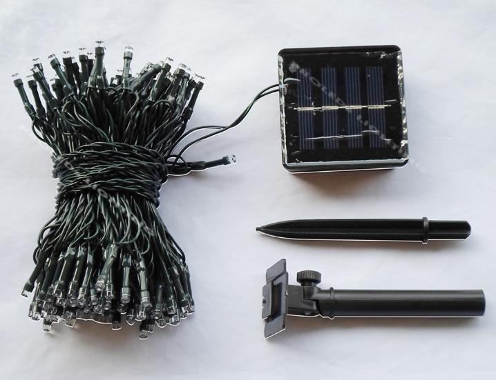Partihandel solkraft 150LED julljus färgstarka Navidad lampara - Festlig belysning - Foto 2