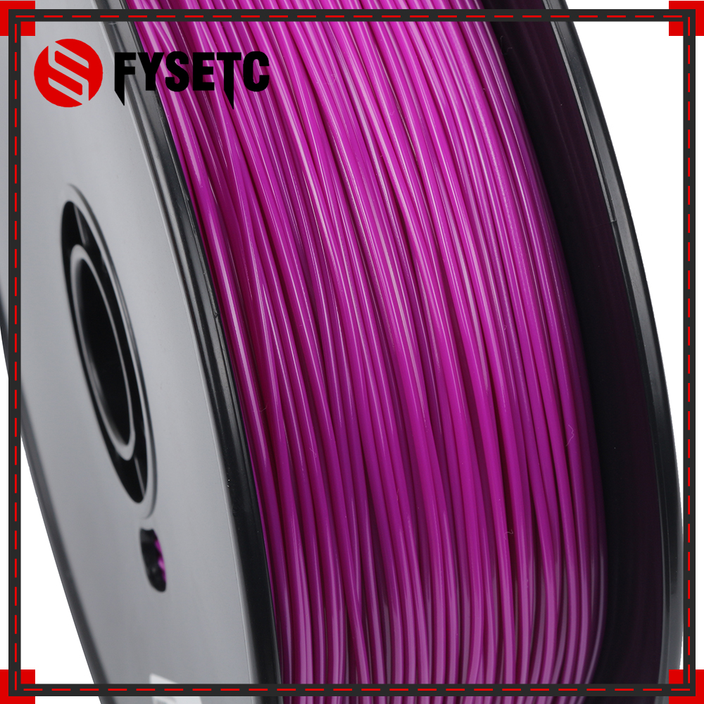 PETG Filament 1.75mm 1kg/2.2lbs Top Quality Purple Color Printing Materials 1.75 PETG Filament For 3D Printer/3D Pen VS ABS/PLA