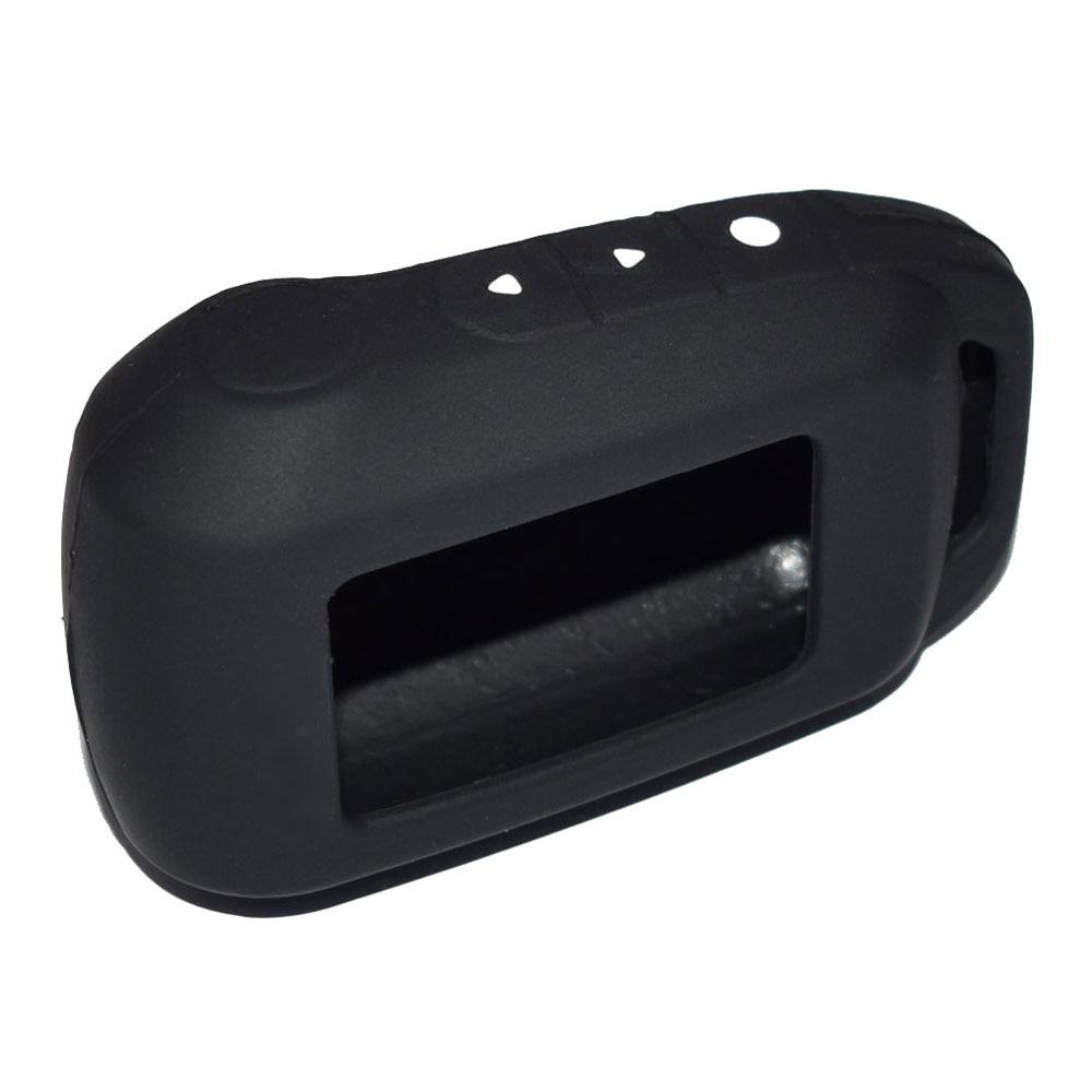 ATOBABI 6 Colors A94 V62 Rasti silikoni Keychain Për Alarmin Ruse - Aksesorë të brendshëm të makinave - Foto 4