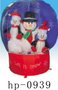 Décorations gonflables gonflables de beaux produits gonflables de noël, décorations joyeuses gonflables - 6