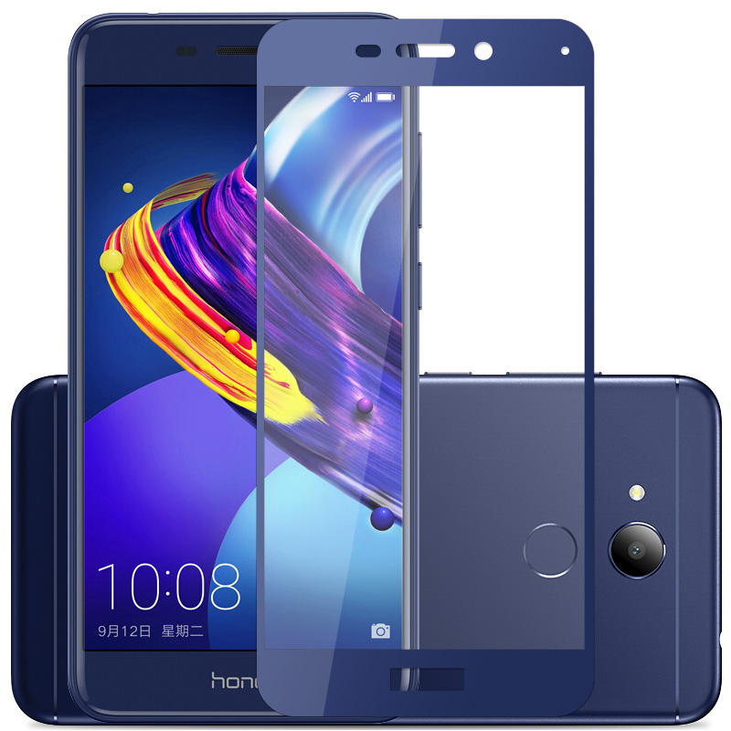 2PCS Glass For Huawei Honor 6C Pro 9 Lite View 10 6X 7X Play Screen Protector Tempered Glass Full Cover Protective Phone Film