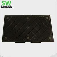SWMAKER MK Replicator 2 budować aktualizacji płyta płyta montażowa dla Replicator 2 3D drukarki 3D drukarki akcesoria części w Części i akcesoria do drukarek 3D od Komputer i biuro na