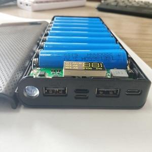 Image 3 - Быстрая зарядка 3,0 Мощность банка 18650 чехол QC3.0 5В 9В 12В держатель литиевой батареи быстрая Зарядное устройство в форме раковины DIY Kit