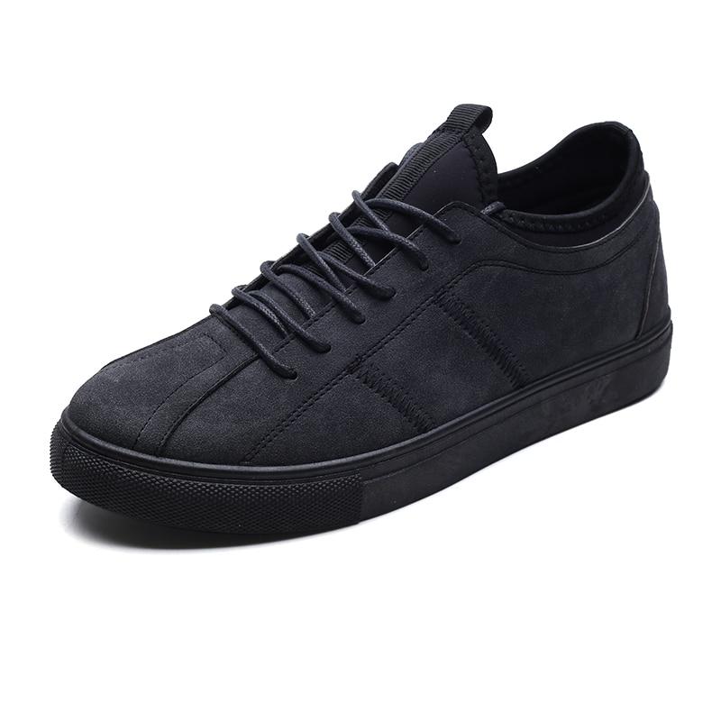 New Men's Casual Shoes Flat Mans footwear Breathable Zapatillas - Men's Shoes