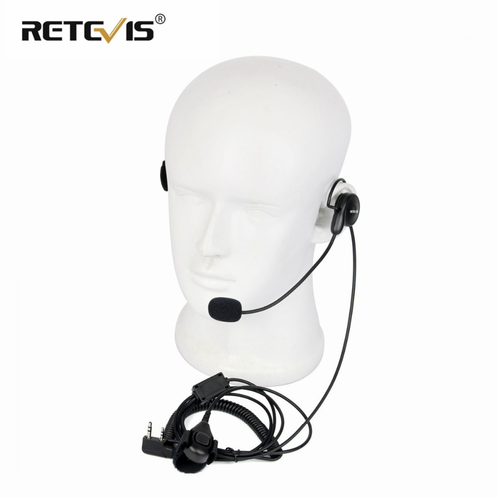 Universal 2Pin Finger PTT Earpiece Soft Microphone Headset For Kenwood For BAOFENG UV-5R Bf-888s Retevis H777 RT5 Walkie TalkieUniversal 2Pin Finger PTT Earpiece Soft Microphone Headset For Kenwood For BAOFENG UV-5R Bf-888s Retevis H777 RT5 Walkie Talkie