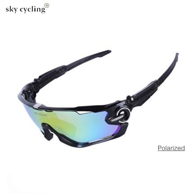0078e6c9b4 SKY 2018 Polarized Cycling Sunglasses UV400 Bike Glasses Men Women Bicycle  Goggles Sports Eyewear Gafas Ciclismo