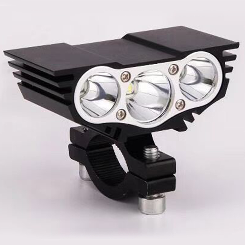 Motorcycle Headlight Motorcycle 12V 20W 1200LM High Lighting Source Lamp Owl 3LED 2LED Motorbike Head Lights Scooter Headlamp
