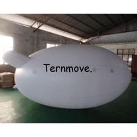large Inflatable Advertising Balloons,Long Inflatable Zeppelin Inflatable Airship Inflatable Advertising Blimp