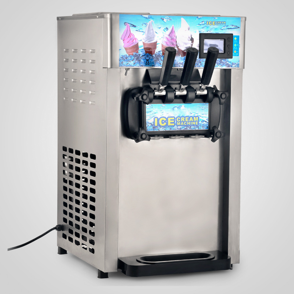 Commercial Soft Serve Ice Cream Machine Frozen Yogurt Ice Cream Maker maker maker ice creammaker machine - title=