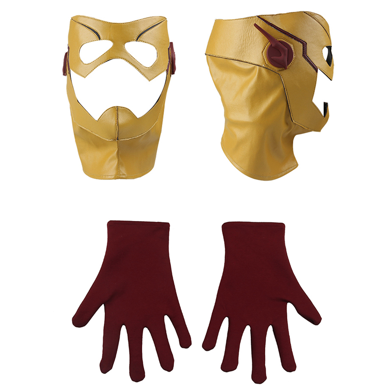 Enfants Flash Cosplay Costume Le Flash Saison 3 Wally West Cosplay Vêtements Halloween Costume de Super Héros Costume pour Hommes Custom Made - 6