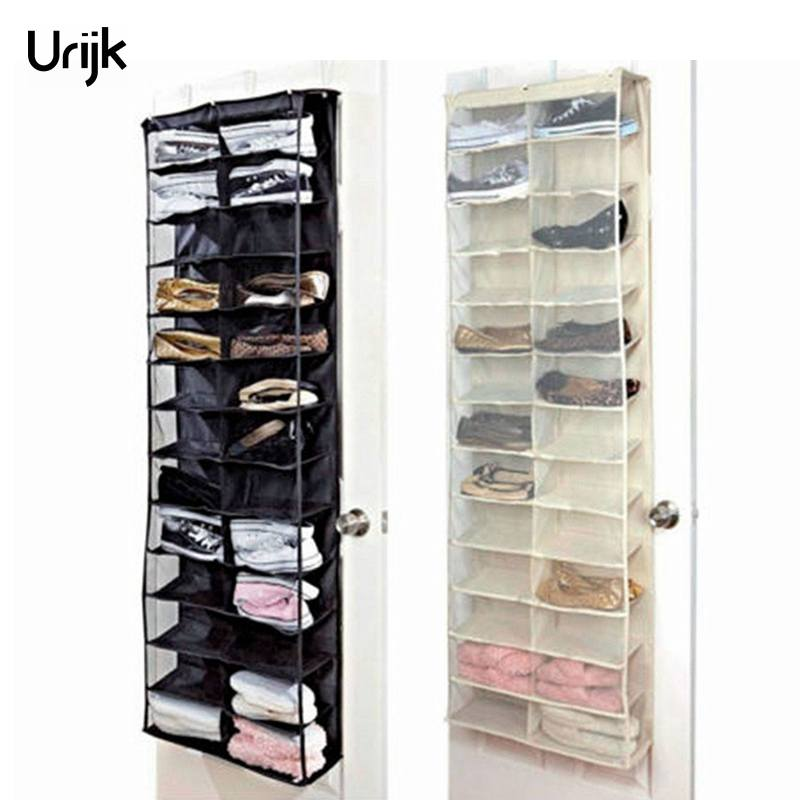 Storage Boxes & Bins Sporting 6 Pockets Hanging Storage Bag Purse Handbag Tote Bag Shoes Storage Organizer Rack Hangers Storage Accessories Drop Shipping Extremely Efficient In Preserving Heat