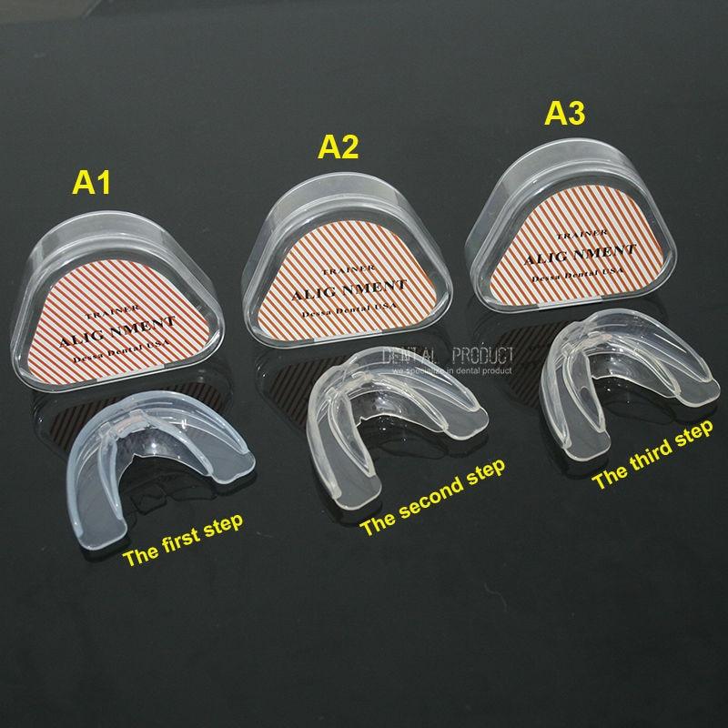 Alat Ortodonti Gigi Dewasa BARU, Silicone Penyelarasan Gigi - Kebersihan mulut