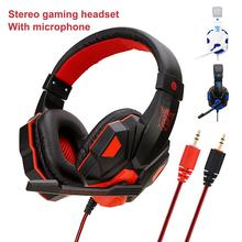 Soyto SY830MV Stereo Gaming Headset Volume Control Headphone