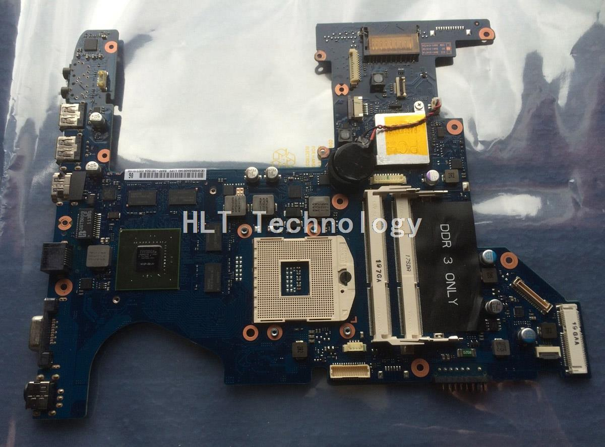 SHELI laptop Motherboard For Samsung RF511 BA92-08160A BA92-08160B GT540M non-integrated graphics card 100% fully tested