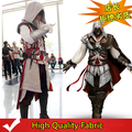 High Quality Assassin's Creed II Ezio Cosplay Costume Carnival/Halloween Costumes for Women/Men Adult Costumes 17 Sets Custom