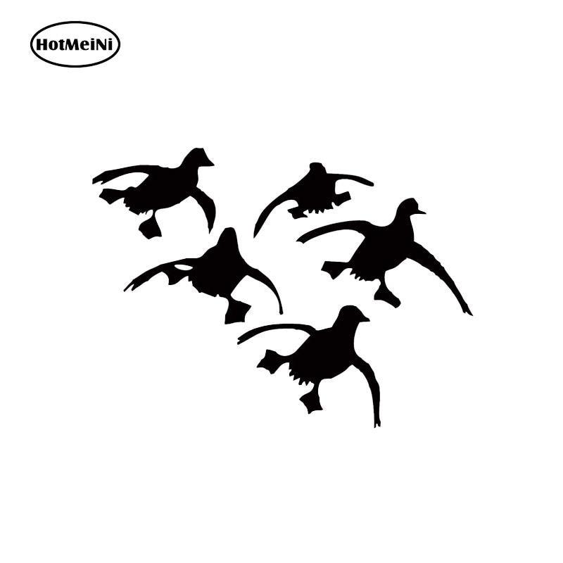 HotMeiNi Car Sticker Flying Ducks Landing Hunting Decals