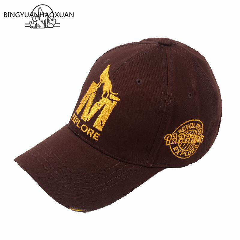 Gorra de béisbol Xlamulu para hombre gorra de béisbol sombrero Snapback  para mujer lavada Vintage bordado ebb7ebe5f8a