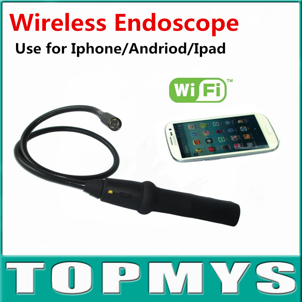 Free Shipping New Wifi Wireless Endoscope Camera Tool Inspection Snake Camera For Android IOS EW13  iphone Endoscope for phone