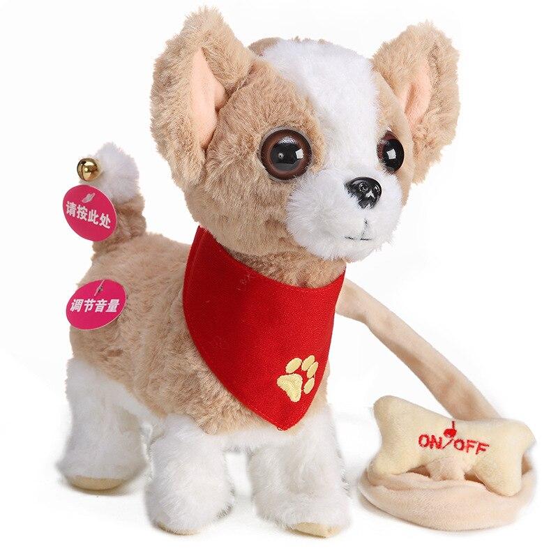 Robot Toy Dog Puppy Interactive Mini Speak Talking Pet Toys For Kids Baby Smart Electronics Barks