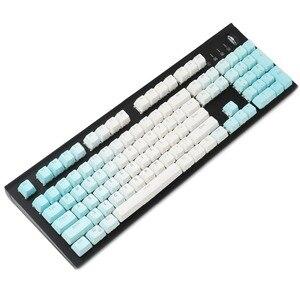 Image 5 - YMDK Çift Atış 104 Boyalı PBT Parlıyor OEM Profil Gökkuşağı Klavye Tuş Takımı Için Uygun set Kiraz MX Anahtarları Mekanik Klavye