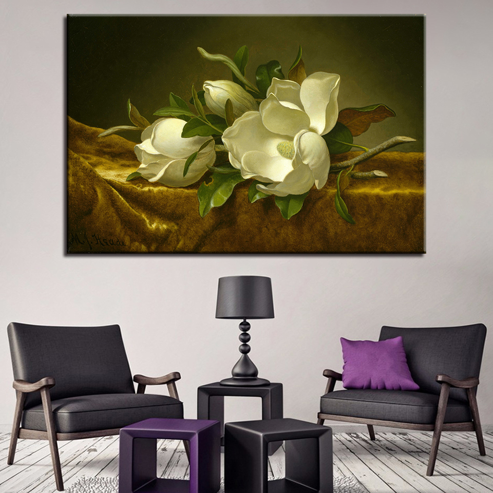 FLOWERS GIRL BEAUTIFUL SUMMER Canvas Wall Art Abstract Picture Large 18 MATAGA .