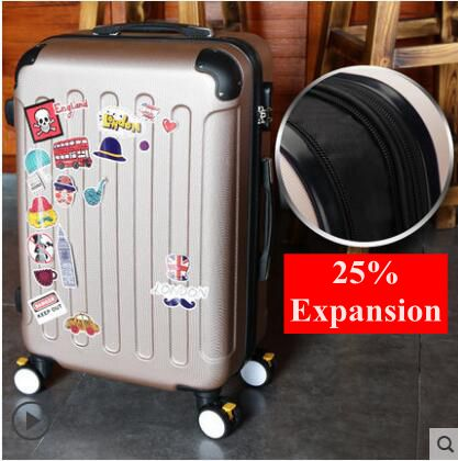 20 inch 24 inch Rolling Luggage Suitcase Cabin Luggage suitcase travel luggage Case Spinner Cases Trolley Baggage  wheeled Case vintage suitcase 20 26 pu leather travel suitcase scratch resistant rolling luggage bags suitcase with tsa lock