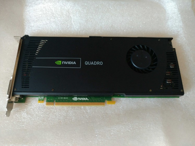 LEADTEK Quadro 4000 Q4000 2G DDR5 carte graphique professionnelle utilisé 90% nouveau