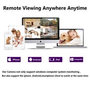 Image 5 - HD 5.0MP 1/3 ソニーセンサー 2592*1944 1080P 5MP AHD ドームカメラ CCTV IR カットフィルターカメラルームナイトビジョン 4CH ホーム監視キット