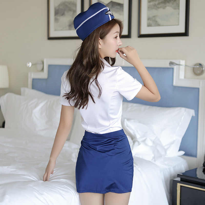 sexy stewardess Porn