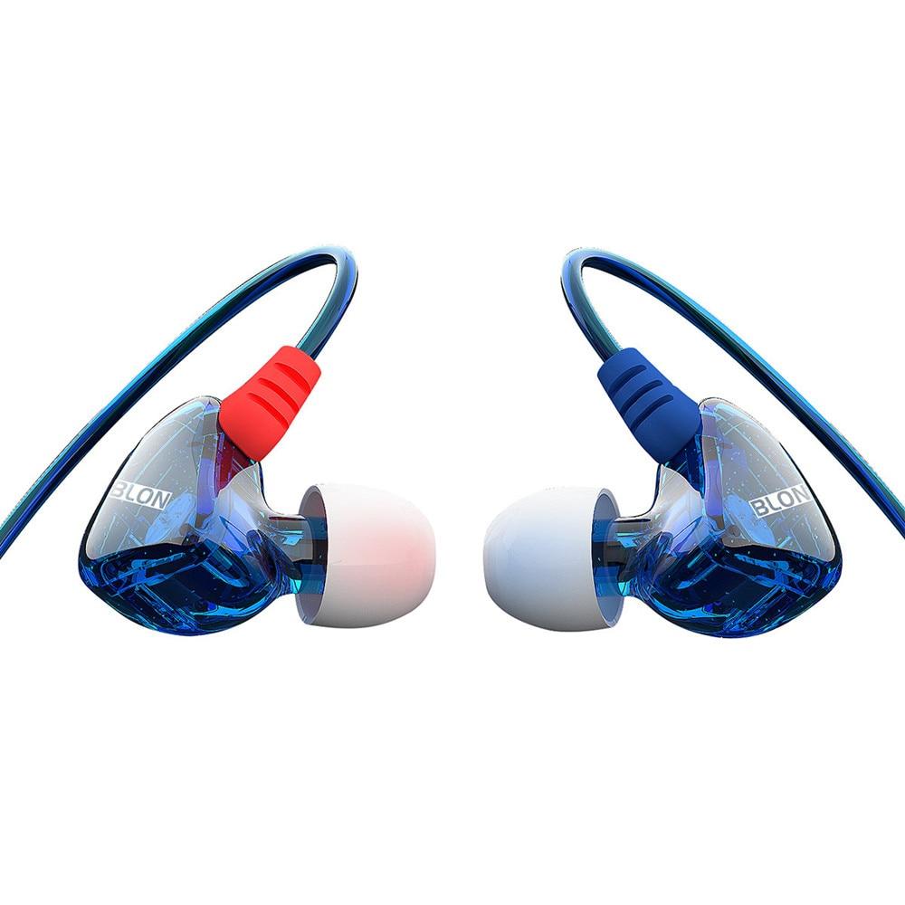 100% Original BLON S1 3.5mm In Ear Earphone BA With DD BOSSHiFi S1 Balanced Armature In Ear Earphone DIY Custom Sport Earphone