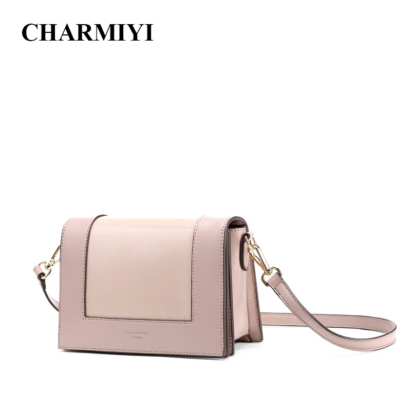 CHARMIYI 2018 Fashion Handbags Women Crossbody Bags Designer Female Messenger Bag Ladies Cover Shoulder Bag Candy Color Clutch women clutch bag genuine leather evening bags candy color summer crossbody messenger bag female shoulder bags envelope handbags