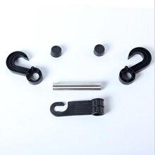 Double Back Seat Headrest Hanger Clip Holder