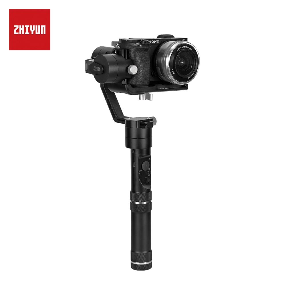 Oficial de ZHIYUN Crane M 3-Axis Brushless Handheld Gimbal estabilizador para cámara sin espejo acción Cámara soporte 650g